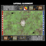 Mats by Mars:  Overgrown Cobbles v1.0 Fantasy Football Play Mat / Pitch