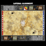 Mats by Mars:  Parched Earth Fantasy Football Play Mat / Pitch
