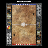Mats by Mars:  Sandy Cobbles Fantasy Football Play Mat / Pitch