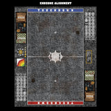 Mats by Mars:  Grey Sett Stone Fantasy Football Play Mat / Pitch