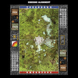 Mats by Mars:  Swamplands v1.0 Fantasy Football Play Mat / Pitch
