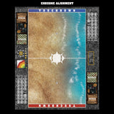 Mats by Mars:  Treasure Beach Fantasy Football Play Mat / Pitch