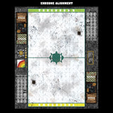 Mats by Mars:  Winter's Wrath Fantasy Football Play Mat / Pitch