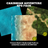Mats by Mars: Caribbean Adventure RPG Pack