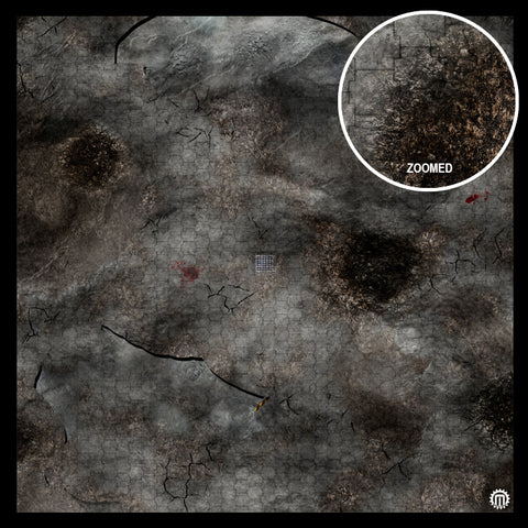 Mats by Mars: Urban Strike Tabletop Wargaming Play Mat