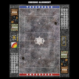 Mats by Mars:  Bustling City Fantasy Football Play Mat / Pitch