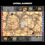 Desert Fantasy Football 7s Play Mat / Pitch from Mats by Mars