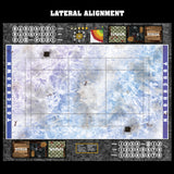 Frozen Lake Fantasy Football 7s Play Mat / Pitch from Mats by Mars