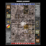 Werkshoppe Fantasy Football 7s Play Mat / Pitch from Mats by Mars