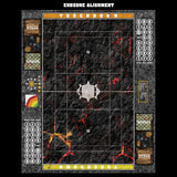 Molten Crust Fantasy Football 7s Play Mat / Pitch from Mats by Mars