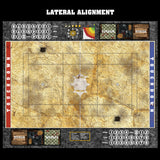 Parched Earth Fantasy Football 7s Play Mat / Pitch from Mats by Mars