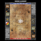 Sandy Cobbles Fantasy Football 7s Play Mat / Pitch from Mats by Mars
