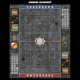 Grey Sett Stone Fantasy Football 7s Play Mat / Pitch from Mats by Mars