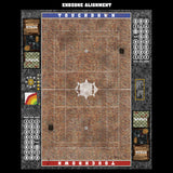Red Sett Stone Fantasy Football 7s Play Mat / Pitch from Mats by Mars
