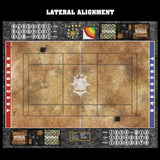 Swallowing Sand Fantasy Football 7s Play Mat / Pitch from Mats by Mars