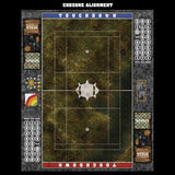 Swamplands Fantasy Football 7s Play Mat / Pitch from Mats by Mars