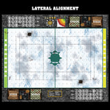 Winter's Wrath Fantasy Football 7s Play Mat / Pitch from Mats by Mars