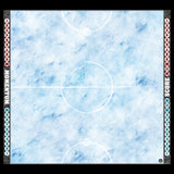 Mats by Mars: Frosty Cobbles Tabletop Wargaming Play Mat