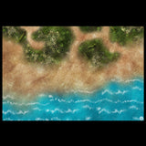 Mats by Mars: Jungle Treasure Tabletop Wargaming Play Mat