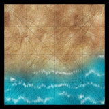 Mats by Mars: Treasure Beach Tabletop Wargaming Play Mat