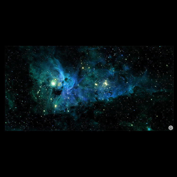 Mats by Mars: Nebula Storm Tabletop Wargaming Space Play Mat