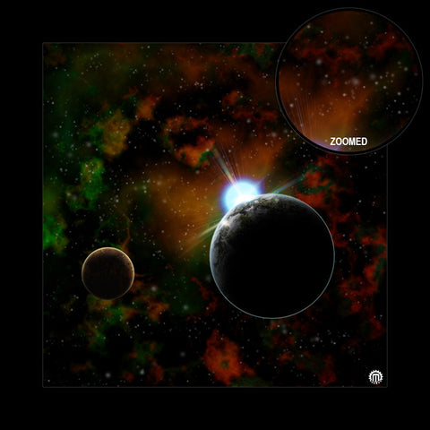 Mats by Mars: Blue Star Eclipse Tabletop Wargaming Space Play Mat