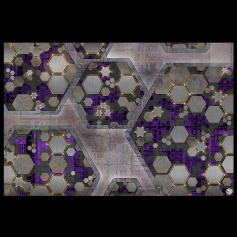 Mats by Mars: Quinfinity Amethyst Tabletop Wargaming Play Mat