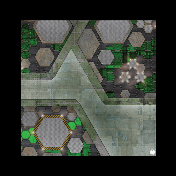 Mats by Mars: Quinfinity Jade Tabletop Wargaming Play Mat