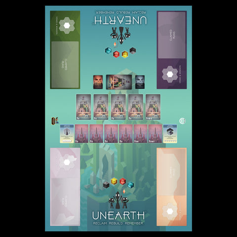 Unearth 4 Player Play Mat