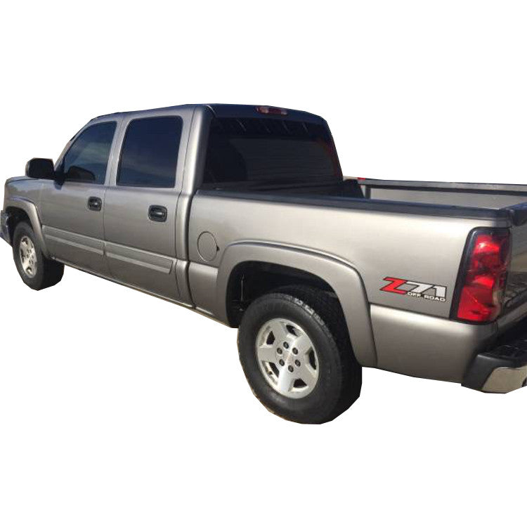 1999-2006 Chevy Silverado Fender Flares Painted - Bolt Style (Pocket Style)