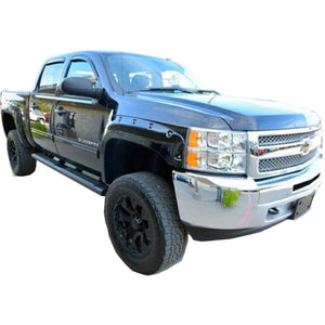 "2007-2013 Chevrolet Silverado 1500 Short Bed 69.3"" Fender Flare Set - Bolt Style (Pocket Style)"