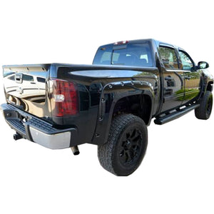 2007-2014 Chevrolet Silverado 2500HD / 3500HD Fender Flare Set - Bolt Style (Pocket Style)