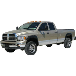 2002-2008 Dodge Ram 1500 2500 3500 Painted to Match Fender Flare Set - Bolt Style (Pocket Style)