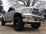 2009-2018 Dodge Ram 1500 Painted to Match Fender Flare Set - Bolt Style
