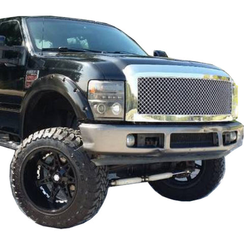 2008-2010 Ford F-250/350 Super Duty Fender Flare Set - Bolt Style (Pocket Style)