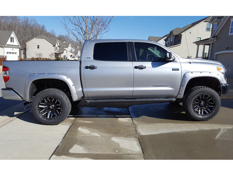 2014 2020 Toyota Tundra Painted To Match Fender Flare Set Oe Style Painted Fender Flares