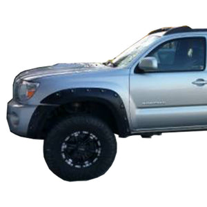 "2005-2011 Toyota Tacoma 60.3"" Bed - Painted to Match Fender Flare Set - Bolt Style (Pocket Style)"