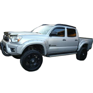 "2012-2015 Toyota Tacoma 60.3"" Bed - Painted to Match Fender Flare Set - Bolt Style (Pocket Style)"