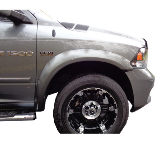 2009-2018 Dodge Ram 1500 Painted to Match Fender Flare Set - Smooth Style