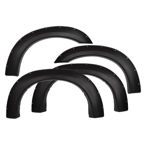 1999-2007 Ford F-250/350 Super Duty Fender Flare Set - Smooth Style