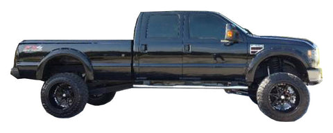 2008 2010 Ford F 250 350 Super Duty Fender Flare Set Painted Fender Flares