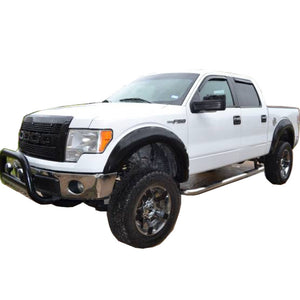 2009-2014 Ford F-150 Fender Flare Set - Smooth Style