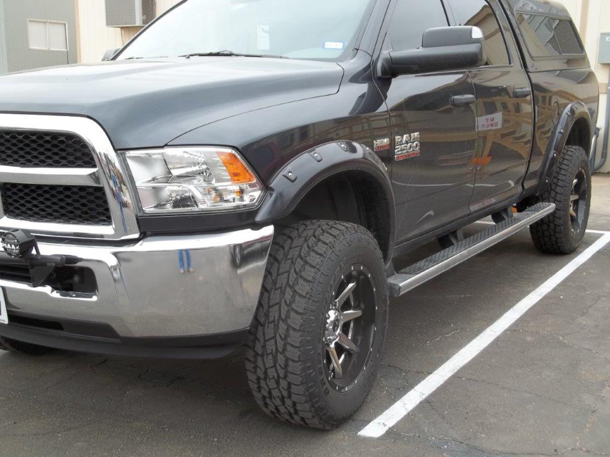 2010 2016 Dodge Ram 2500 3500 Painted Fender Flares