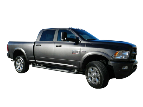 2010-2018 Dodge Ram 2500 / 3500 Painted to Match Fender Flare Set - OE Style