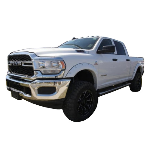 2019-2020 Dodge Ram 2500 3500  Painted to Match Fender Flares Set - Bolt Style