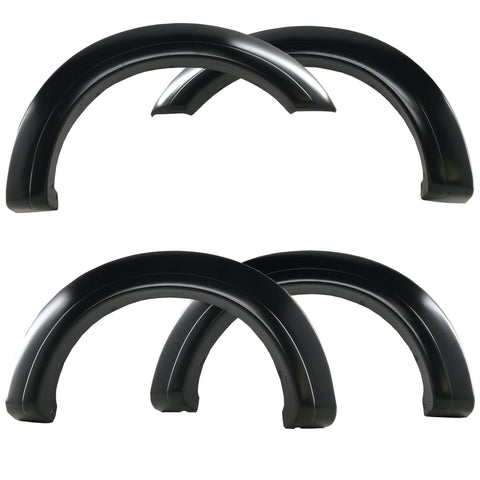 2017-2020 Ford F-250/350 Super Duty Fender Flare Set - Smooth Style