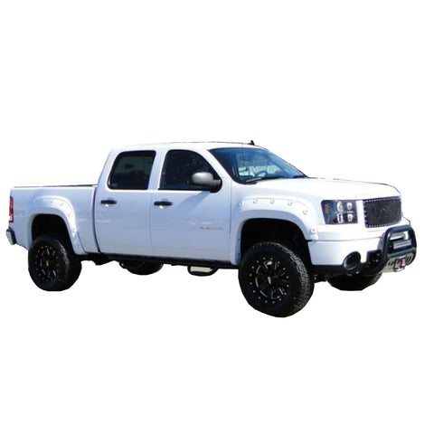 "2007-2013 GMC Sierra 2500 3500 Fender Flare Set - Bolt Style 78.7"" and 97.6"" Fleetside bed"