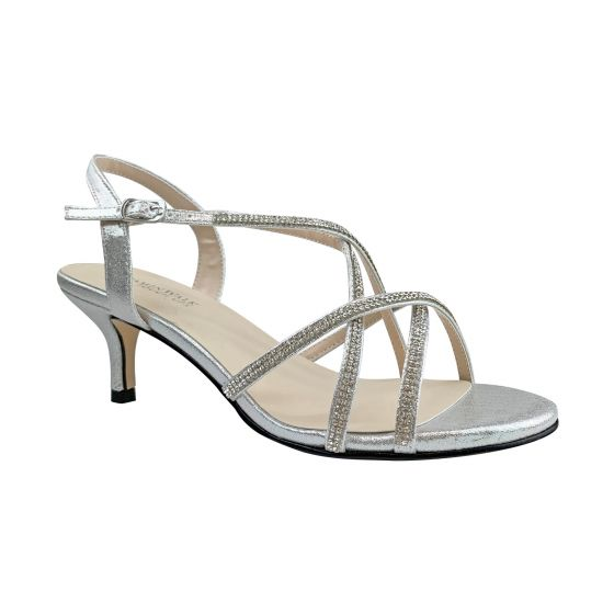 Sansa Shoe in silver #4531