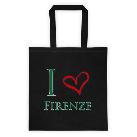 I Love Firenze Tote bag