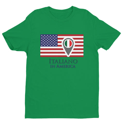 Italiano in America Check In Men's Short Sleeve T-shirt